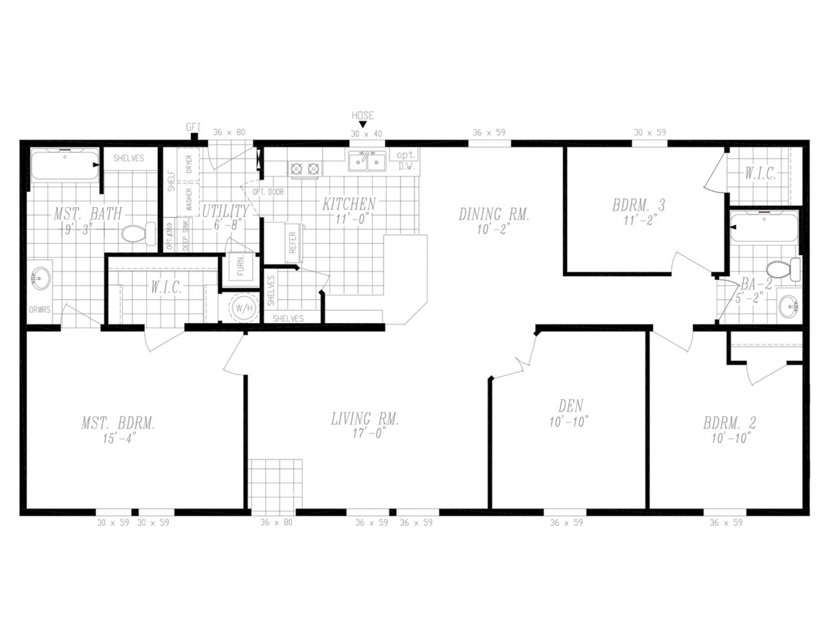 Santiago Country View floorplan