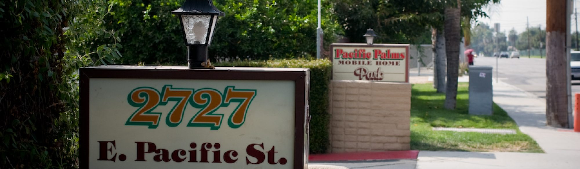 Pacific Palms sign