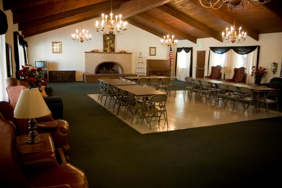 Rancho Meridian common room