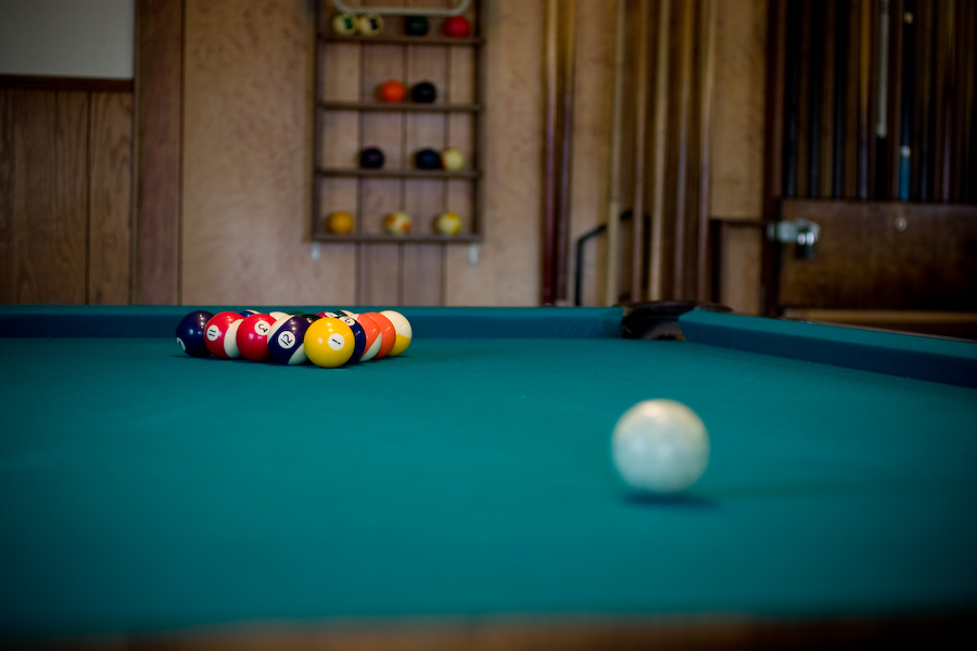 Rancho Meridian pool table