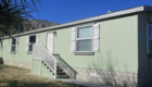 Sun Canyon Estates mobile home side