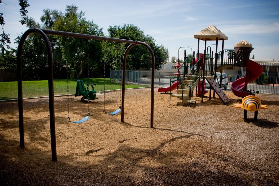 Sequoia Plaza playground