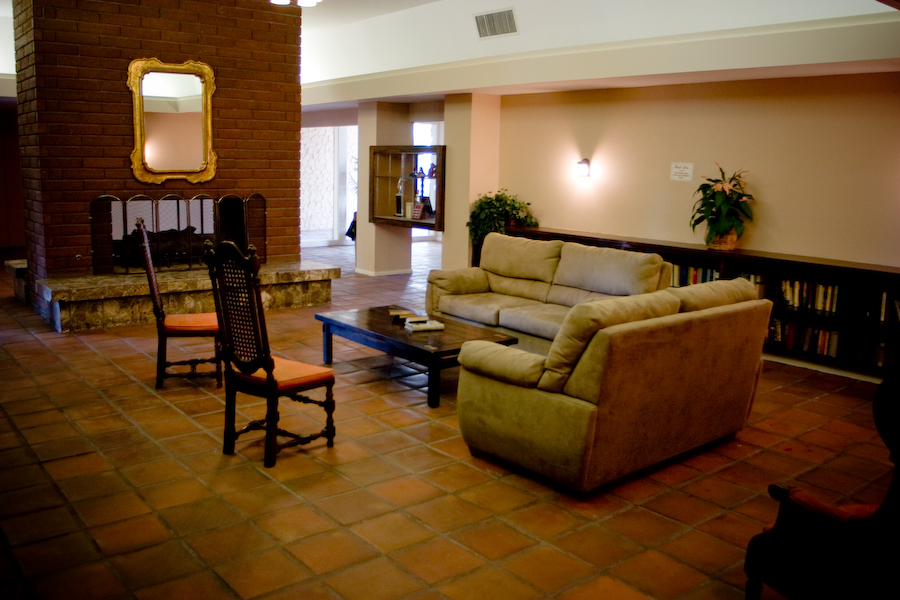 Sequoia Plaza common room