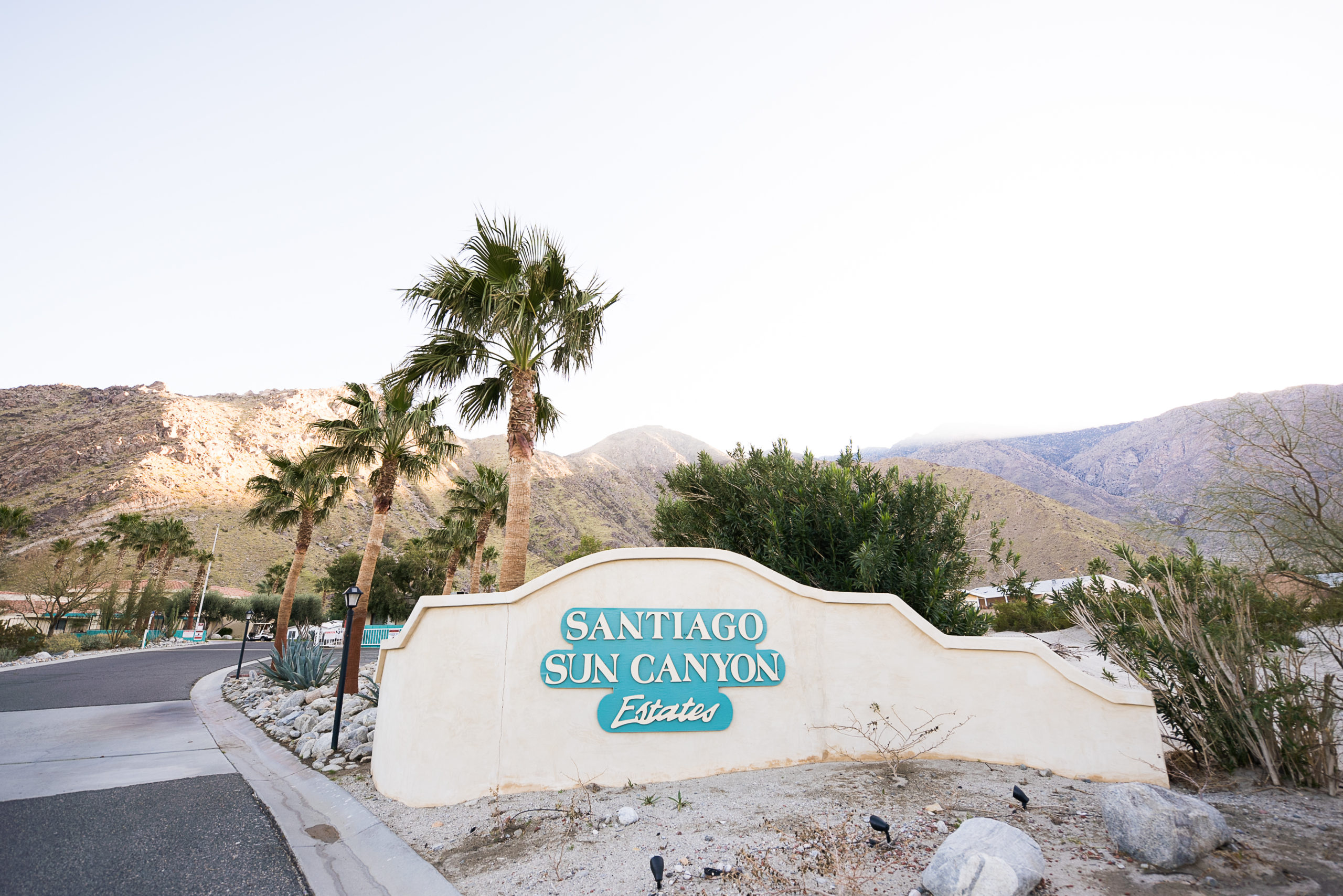 Sun Canyon Estates Sign