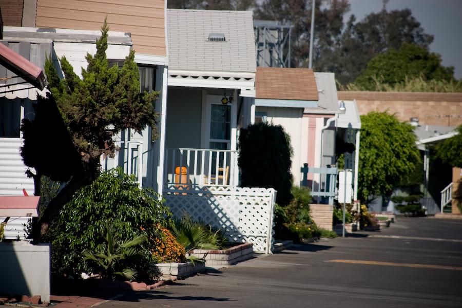 Santiago Creekside Estates street