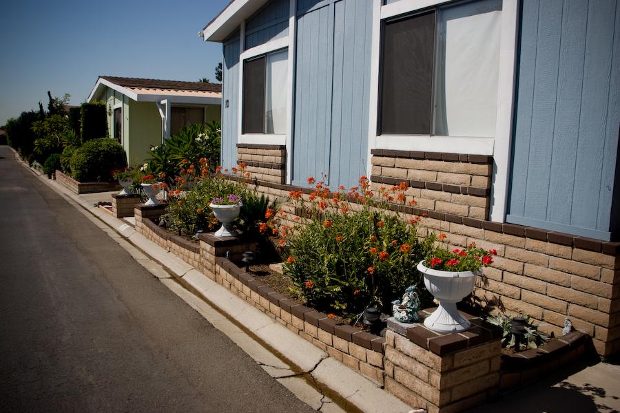 Santiago Creek Orange street view